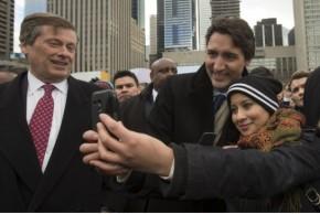 Trudeau Selfies