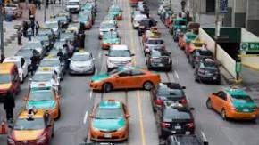cabbies on strike