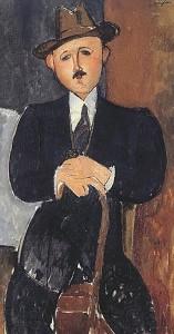 amadeo-modigliani-seated-man-cane