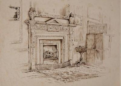 potter drawing