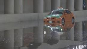 taxi flood